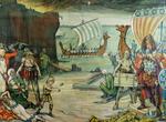26. De Noormannen vernietigen het kasteel van Antwerpen