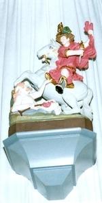 H. Martinus te paard met bedelaar aan zijn voeten