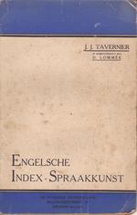 Engelsche index-spraakkunst