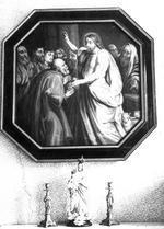 Jezus overhandigt sleutels aan Petrus