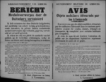 Affiche van 17 december 1918 - verbod op handel in door de vijand in beslag genomen meubels, heling en terugvordering van deze voorwerpen.