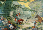 25. Dood van Roland te Roncevaux