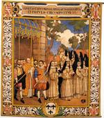 Processie ten tijde van abdis Barbara de Rivière d'Arschot