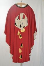 Rood kazuifel