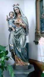 Koningin Moeder Maria met Kind
