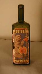 Fles 'Bitter Martin' voor Hougardia, Hoegaarden, ca. 1930-1950
