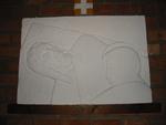 Statie 14 - Jezus wordt in het graf gelegd.