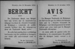 Hasselt, affiche van 12 december 1918 - bankbrieven uitgegeven door Société Générale de Belgique hebben dezelfde waarde als deze van de Nationale Bank van België.