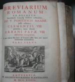 Breviarum Romanum 1733