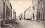 Landen. Rue de l'Eglise Kerkstraat