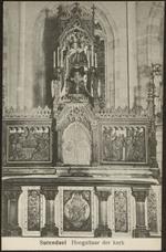 Sutendael Hoogaltaar der kerk