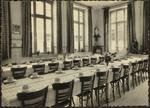 Provinciale Vroedvrouwenschool HASSELT Eetzaal.