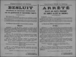 Hasselt, affiche van 14 juni 1919 - voorwerpen afkomstig van een geallieerd of vijandig leger aangeven.