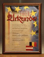 Ehren Urkunde