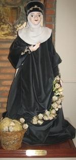 Beeld van Elisabeth van Hongarije