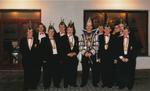 Raad van 11 met Prins Carnaval 10-02-1997