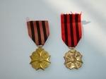 medaille: Zilveren medaille Burgerlijke Decoratie voor Trouwe Dienst in de Administratie (2 stks)