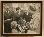 Bezoek koningin Fabiola aan Beersel