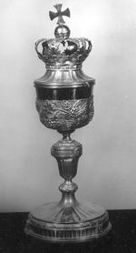 Zilveren Leuvense Lod. XVI ciborie, gedateerd 1779