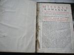 Missale Romanum 1648