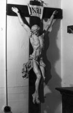 Beeld Jezus aan het kruis