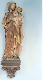 Sint-Jozef met het kindje Jezus