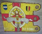 Vlag met Heilig Hart van Jezus