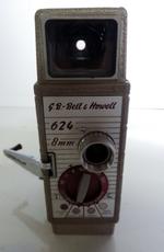 Filmcamera met tas