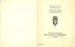 Menukaart Sint Nicolaasfeest S.R.O.C.