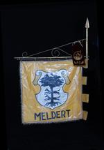 Banier van rijvereniging 'Moedige dravers' Meldert