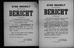 Stad Hasselt, affiche van 12 november 1918 - verbod op bezit Duitse wapens.