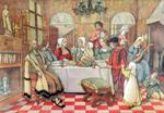 44. De ontmoeting van Aalbrecht Dürer en Quinten Massijs