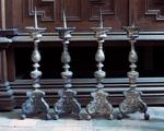 Vier altaarkandelaars