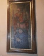 Portret van H. Benedictijn met Heilige Amandus