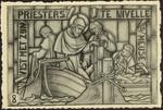 Het Sint-Hubertusvenster in de Kerk van Wiemismeer