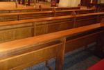 Kerkbanken zuidelijke arm transept