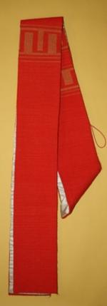 Rode diakenstola