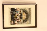 Fotolijst met foto reis 1992