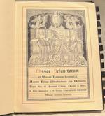 Missae Defunctorum ex Missali Romano