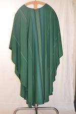 Groen kazuifel met stola