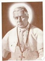 Bidprent 'Gebed tot verspreiding van de dagelijkse communie'.