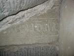 grafsteenfragment tekst