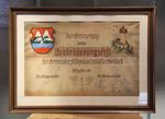 Erinnerung an das herbruderungsfelt der gemeinden Schepdaal und Obervellach