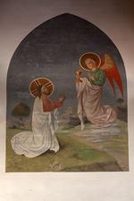 Christus met engel
