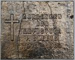 Gedenkplaat voor de E. H. pastoor Smeets