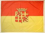 Geel-rode vlag met wapen van Rekem