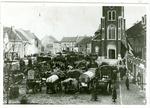 Terugtrekkend Keizerlijk leger in Herk-de-Stad.
