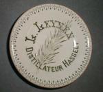 Onderzetter voor Leynen, Hasselt, ca. 1900-1920