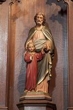 Heilige Jozef met Christus