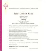 DB Knuts Jozef Lambert